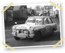 triumph herald rally car